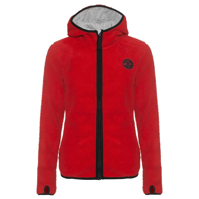 kramfors women Kramfors women's pile fleece is a nice pile fleece jacket for women, with contrast coloured bindings and a lovely hood lined with soft jersey.
