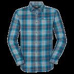 Jack wolfskin gifford shirt men moroccan blue checks