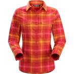 Arc teryx addison ls shirt women s tientos pink