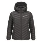 Peak performance women s frost down hooded jacket skiffer