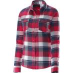 Salomon mystic flannel ls shirt w lotus pink big blue x