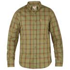 Fjallraven ovik flannel shirt ls green