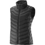 Salomon halo down vest w black