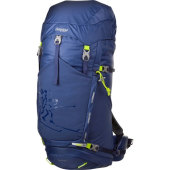 Bergans rondane 46l dusty blue neon green