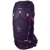 Bergans rondane 46l lady blackberry hot pink
