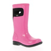 Bogs kid s tacoma solid hot pink