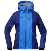 Bergans cecilie jacket wintersky inkblue deep moss