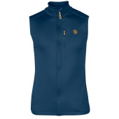 Fjallraven keb fleece vest uncle blue
