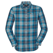 Jack wolfskin gifford shirt men moroccan blue checks