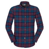 Jack wolfskin convection shirt ls m evening blue checks