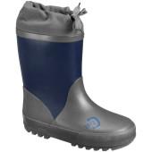 Didriksons slush kids winter boots navy