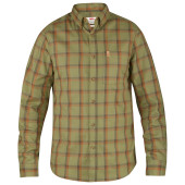 Fjallraven ovik flannel shirt ls green