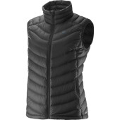 Salomon halo down vest w black