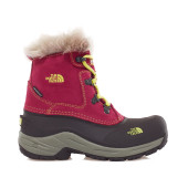 The north face girl s mcmurdo boot radiance purple tokyo green