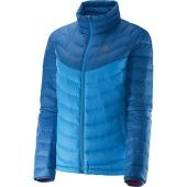 Salomon halo down jacket ii w methyl blue dolomite blue