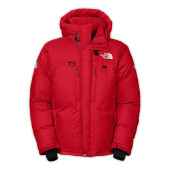 The north face m himalayan parka tnf red