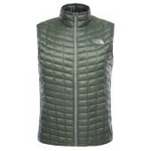 The north face m thermoball hybrid vest eu laurel wreath green