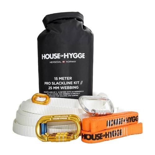 House of hygge slackline kit 25m white