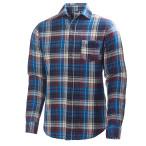 Helly hansen mountain shelter shirt evening blue