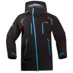 Bergans glittertind jacket black bright seablue pumpkin