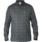 Fjallraven ovik flannel shirt ls tarmac