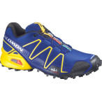 Salomon speedcross 3 g blue canary yellow black