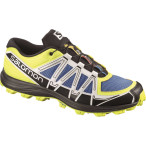 Salomon fellraiser methyl blue canary yellow cane