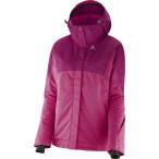 Salomon sashay jacket w daisy pink mystic purple