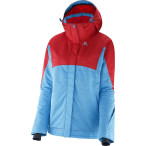 Salomon sashay jacket w blue line poppy