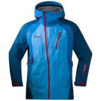 Bergans isogaisa jacket br seablue dp sea br red