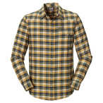 Jack wolfskin edmont shirt men dark teal checks
