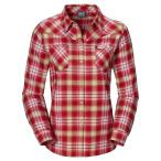 Jack wolfskin gifford shirt women pale cherry checks