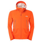 The north face m diad jacket acrilic orange