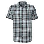 Jack wolfskin saint elmos shirt m black checks