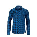 Ortovox rock n wool dc shirt l sleeve blue ocean