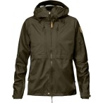Fjallraven keb eco shell jacket w dark olive