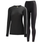 Helly hansen women s hh dry 2 pack black