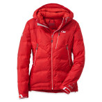 Outdoor research floodlight jacket women s flame