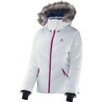 Salomon icetown jacket w white