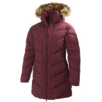 Helly hansen w hilton down parka bordeaux