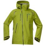 Bergans glittertind jacket lime green tea lt seablue